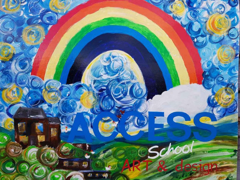 Artwork from Access School