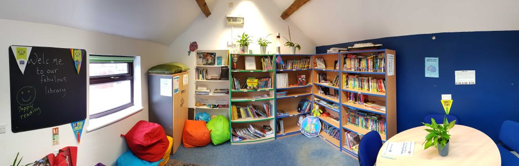 Picture of the library at Access School